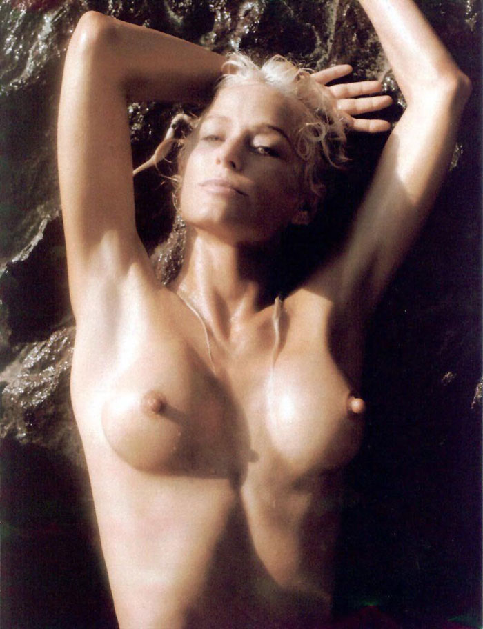 from Wayne farrah fawcett nipples naked