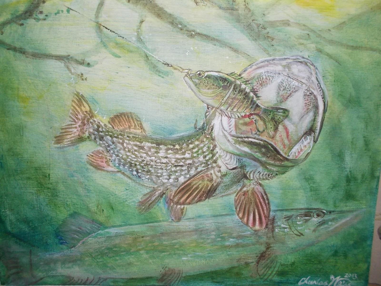 Pik Fish Art Paint