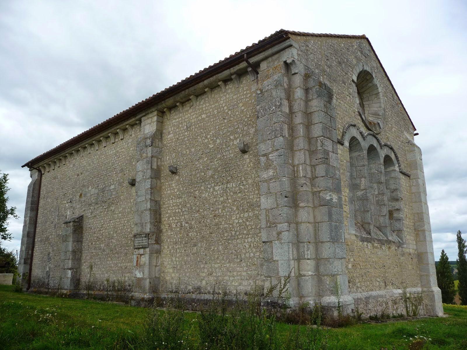 The Templiers Chapelle near Blanzac