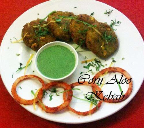 Aloo Corn Kebab