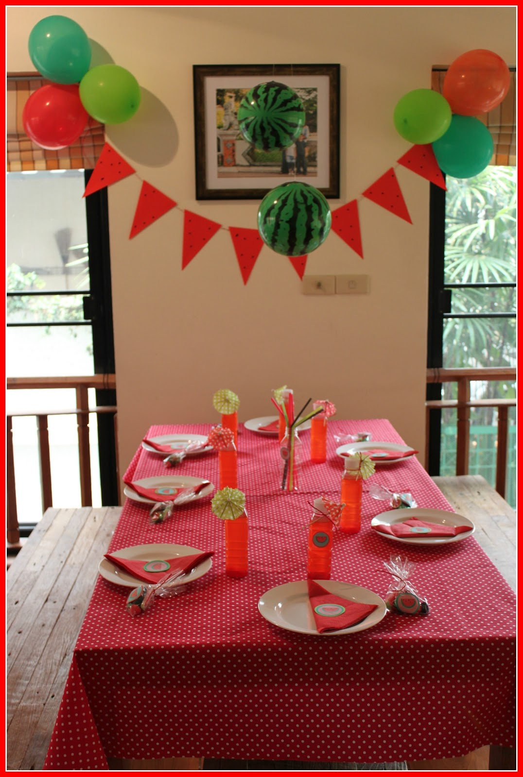 Loving Mums Watermelon Party