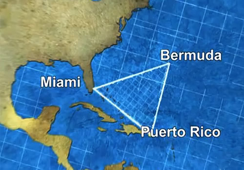 "a brief history of the disappearances in the bermuda triangle in the atlantic ocean The bermuda triangle is a large area of ocean between florida, puerto rico, and bermuda over the last few centuries, it's thought that dozens of ships and planes have disappeared under mysterious circumstances in the area, earning it the nickname ""the devil's triangle"" people have even ."