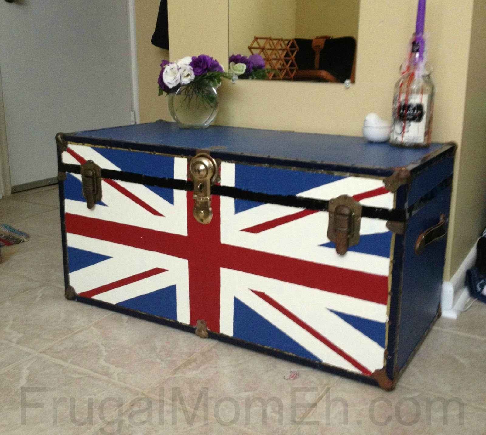 Uncategorized Union Jack Trunk Diy Union Jack Trunk Frugal Mom Eh Trunk