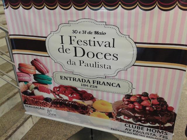 primeiro festival de doces da Paulista