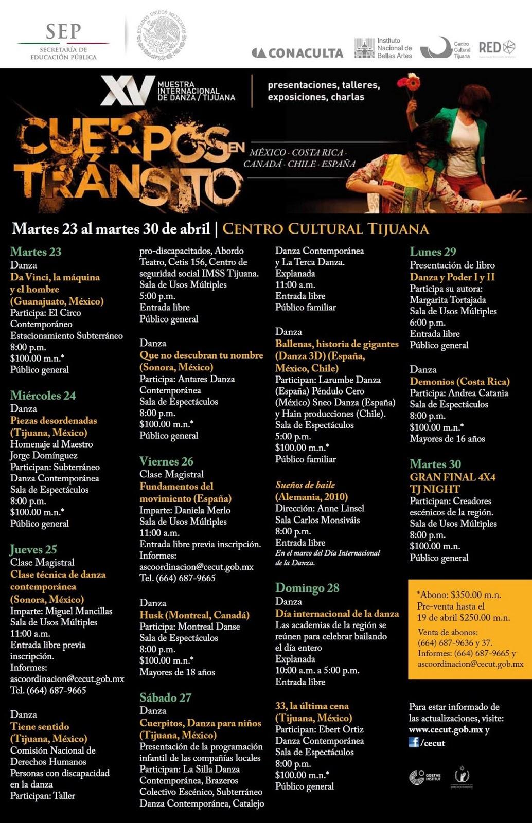 Centro Cultural Tijuana - CECUT: abril 2013