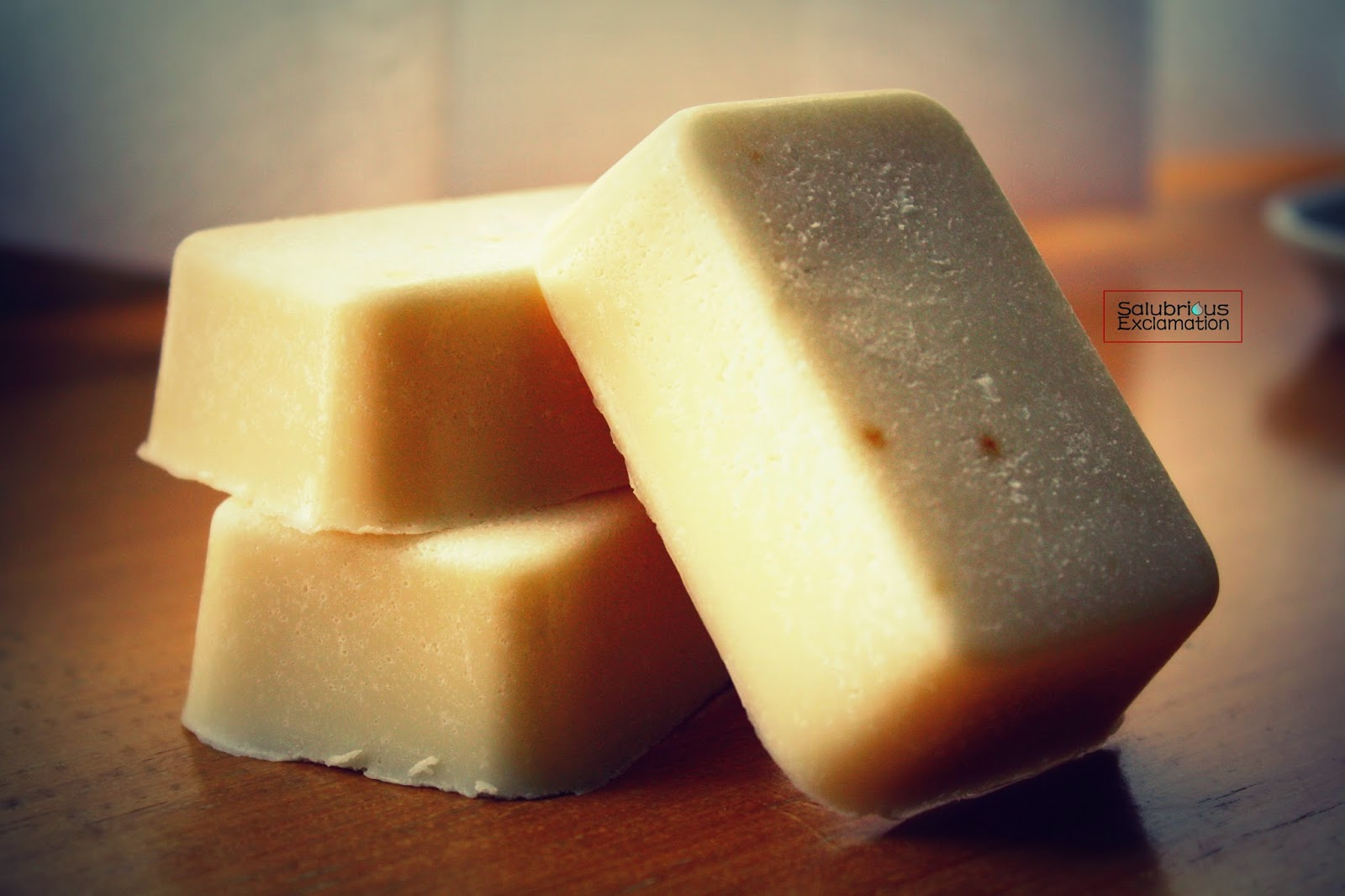Recipe for Chamomile Honey Exfoliating Bar Soap