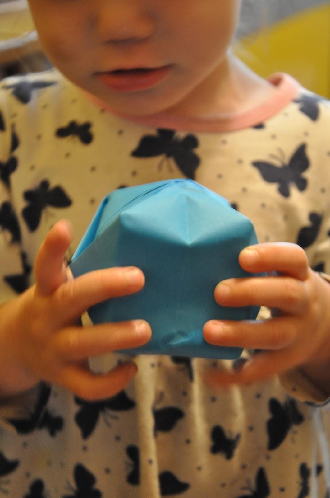 Paper Magic Origami Basket Balloon