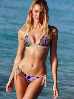 Candice Swanepoel sexy bikini body photo shoot for Victoria's Secret bikini model