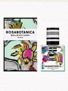 Balenciaga`s new perfume, Rosabotanica bottle