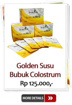 Jual Golden Susu Colostrum Murah