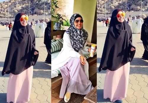 Hijab Cantik Ala Laudya Cynthia Bella