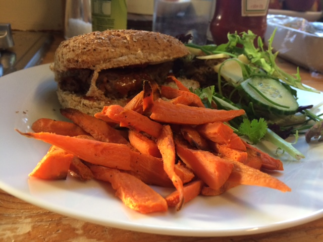 slimming world syn free lean mince burger meal