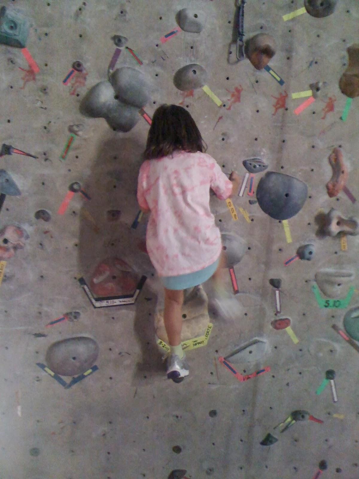 Red Rock Climbing Gym in Las Vegas