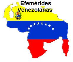 Efemérides Venezolanas