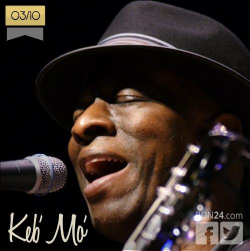 03 de octubre | Keb' Mo' - @kebmomusic | Info + vídeos