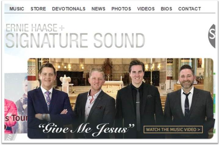Ernie Haase And Signature Sound (Website)