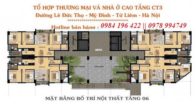 *Chung cư CT3 Lê Đức Thọ-bán cc ct3 le duc tho(CLand CT3 Le duc tho)B=G!