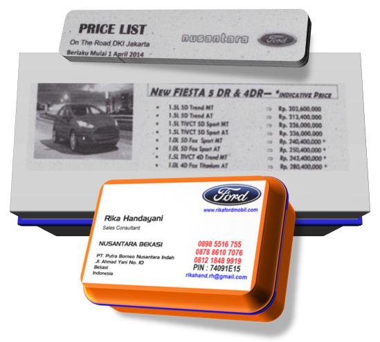 Daftar Harga dan Paket Kredit Ford New Fiesta Terbaru
