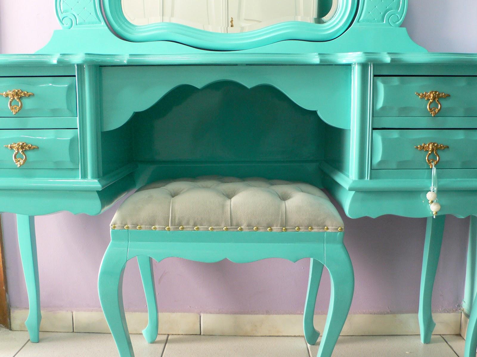 """Armario Modular Ikea Pax ~ Ateliando Customizaç u00e3o de móveis antigos Verde""""Tiffany"""" Ateliando"""