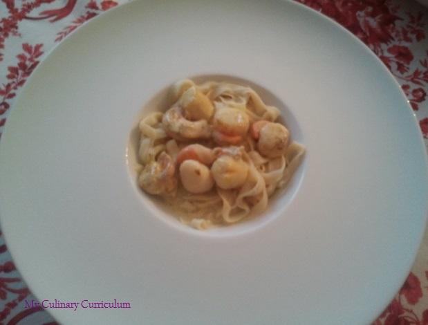 My culinary curriculum noix de st jacques au curry et - Noix de st jacques au four ...