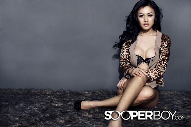 Devi Liu for Sooperboy, March 2013