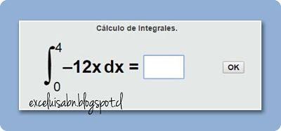Calculo de Integrales.