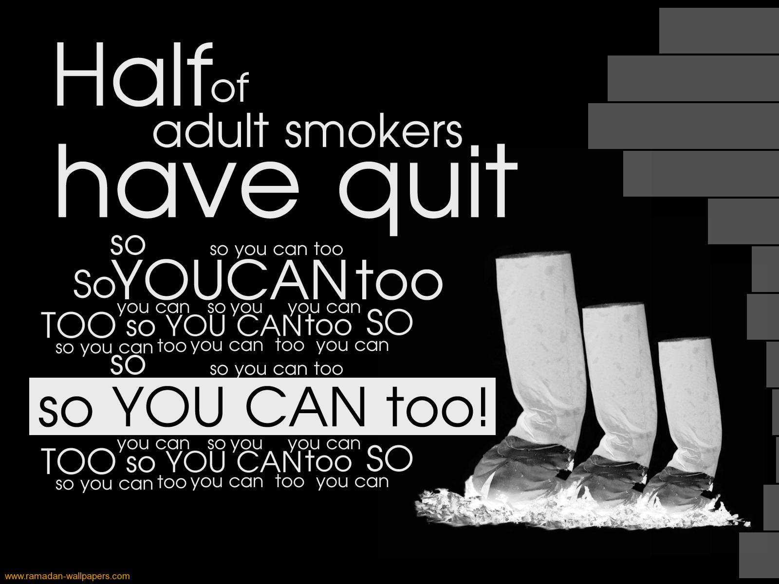 can you quit smoking quotes quotesgram