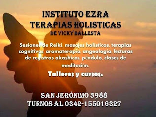 Instituto Ezra Terapias Holisticas de Vicky Ballesta