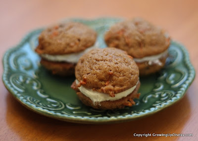 carrot cake cookie recipe, Disney's Hollywood Studios, Writer's Stop