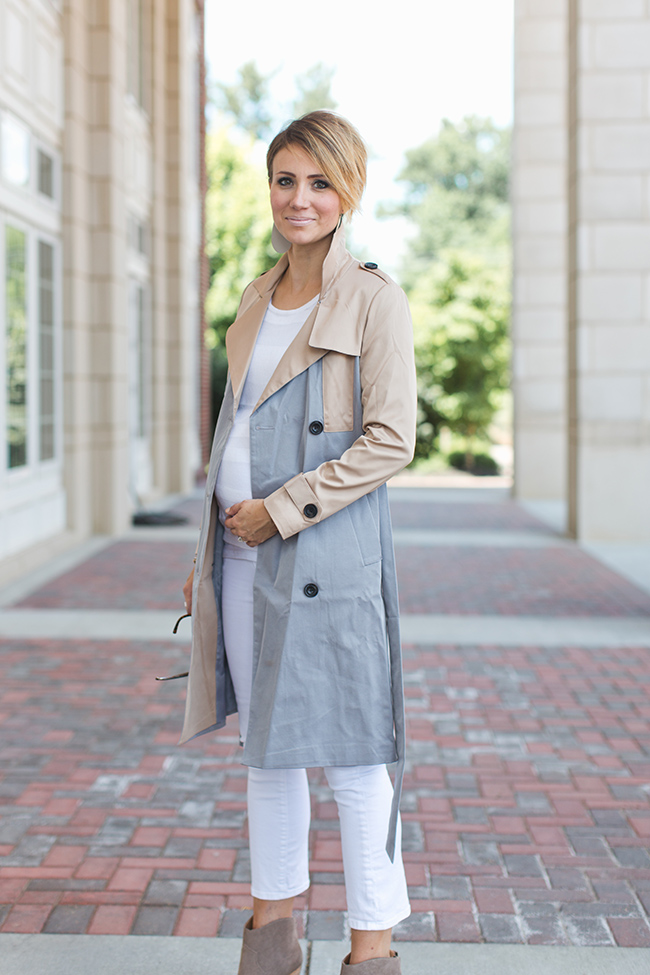 Trench Coats and More Trends for Fall - ONE little MOMMA