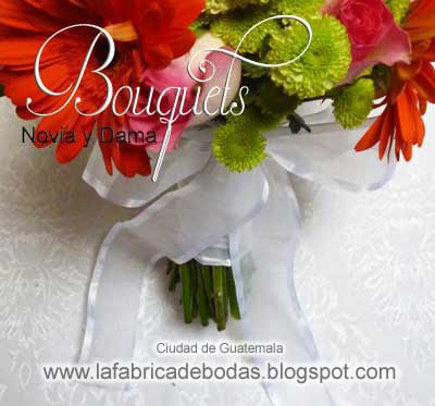 venta de Ramos de novia y dama flores mama de la novia y novio