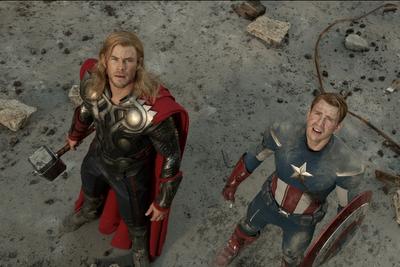 Nuevas fotos de los Vengadores