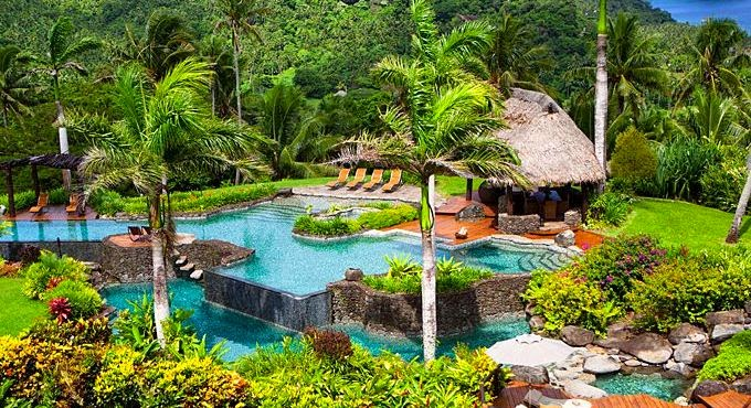 Hilltop Estate Owner's accommodation at the Laucala Island Resort