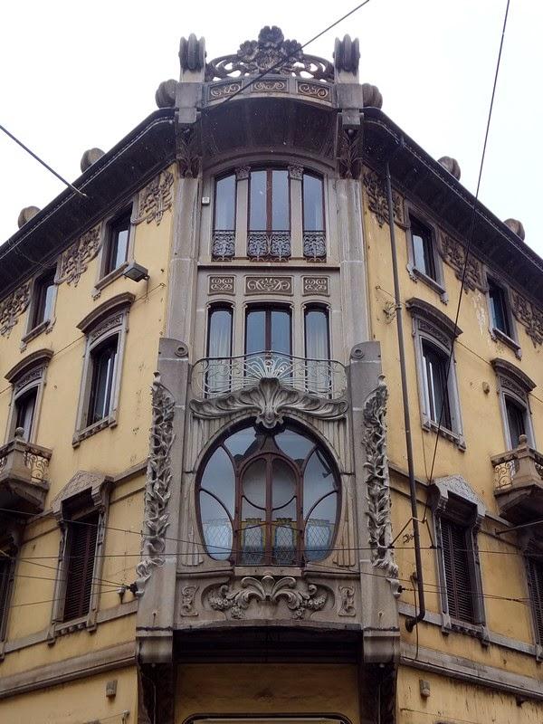 Turin Italie art nouveau Liberty casa florio