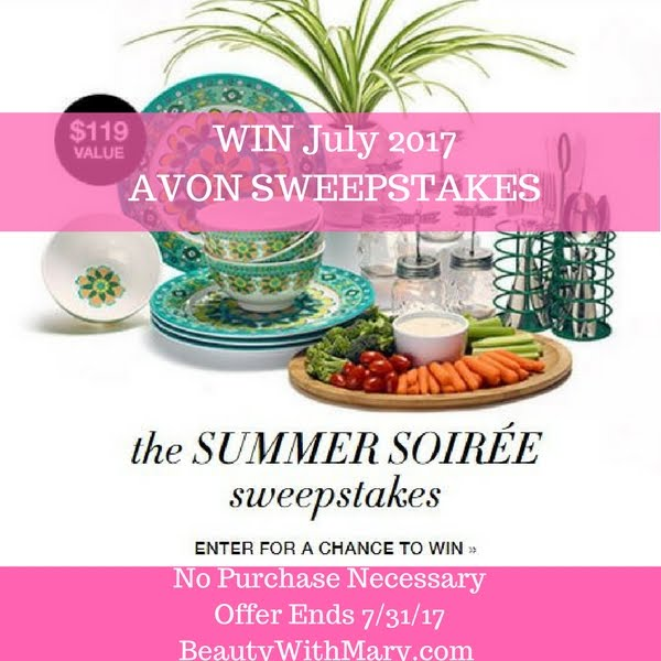 ENTER AVON SWEEPSTAKES