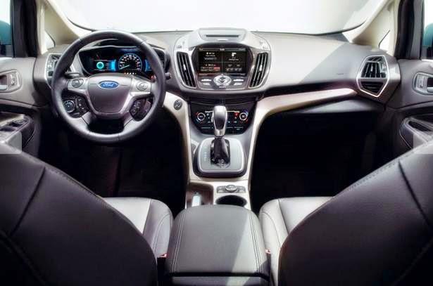 2015 Ford C-MAX Hybrid SE Interior