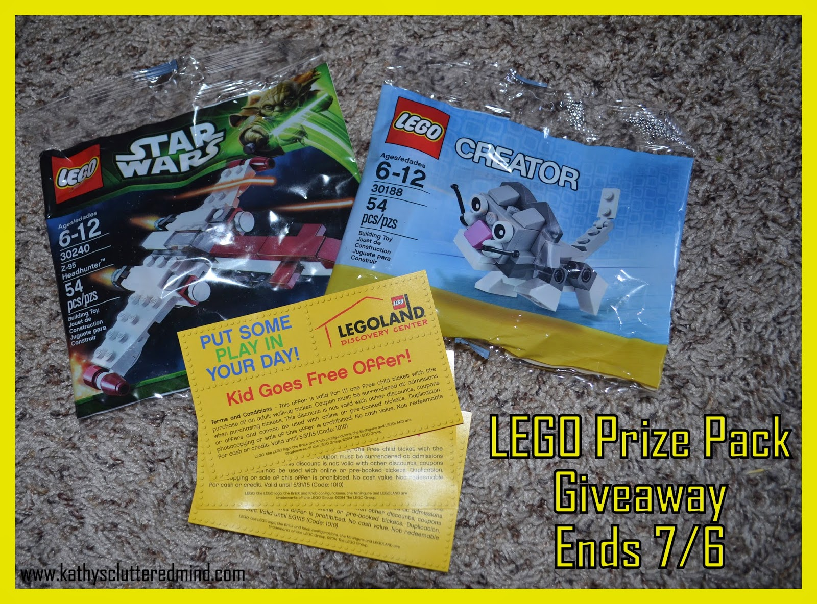Kathys cluttered mind atlanta lego kidsfest review and star wars headhunter set 30240 as well as 2 great coupons for legoland discovery center atlanta buy 1 adult ticket get 1 kid free exp 53115 fandeluxe Images