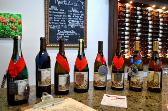 Montaluce Winery & Estates, Tasting