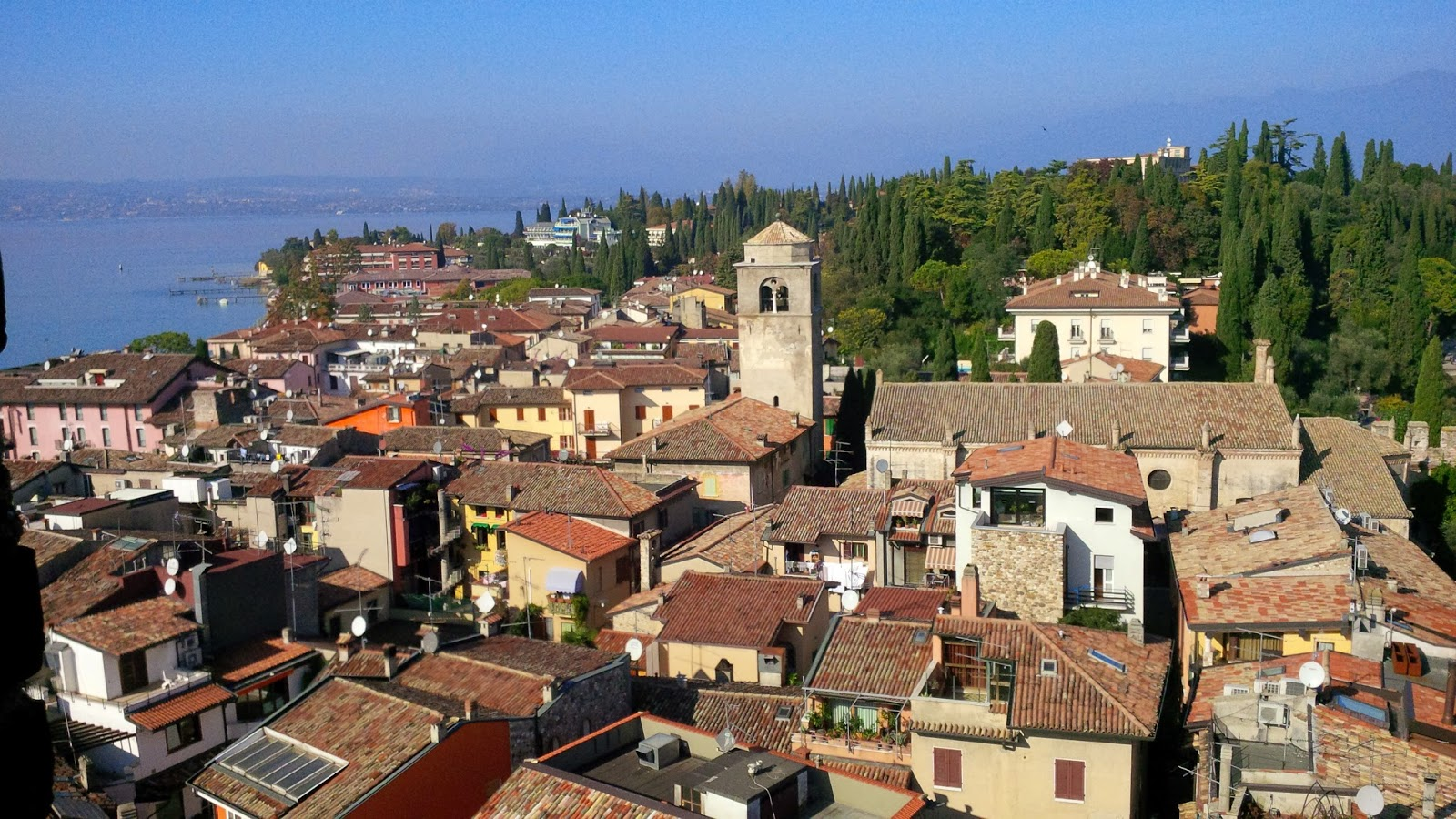 Sirmione's Rooftops
