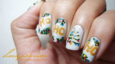 Lacqueerisa: HoHoHo Christmas Nails!