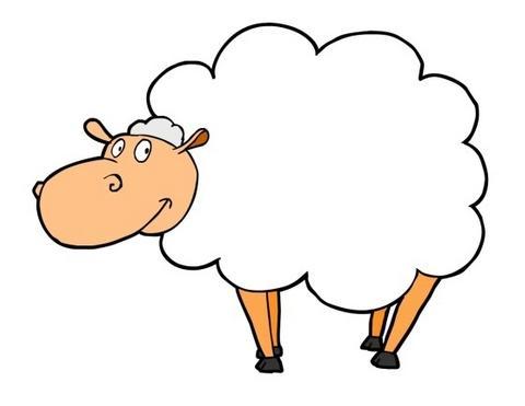 imgenes a color de ovejas listas para imprimir y decorar el aula si quieres ver las imgenes en grande haz clic sobre ellas