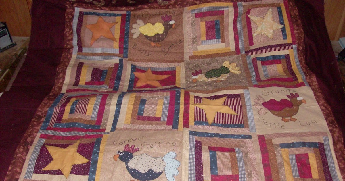 Lil Bit of Country: My Chicken Quilt