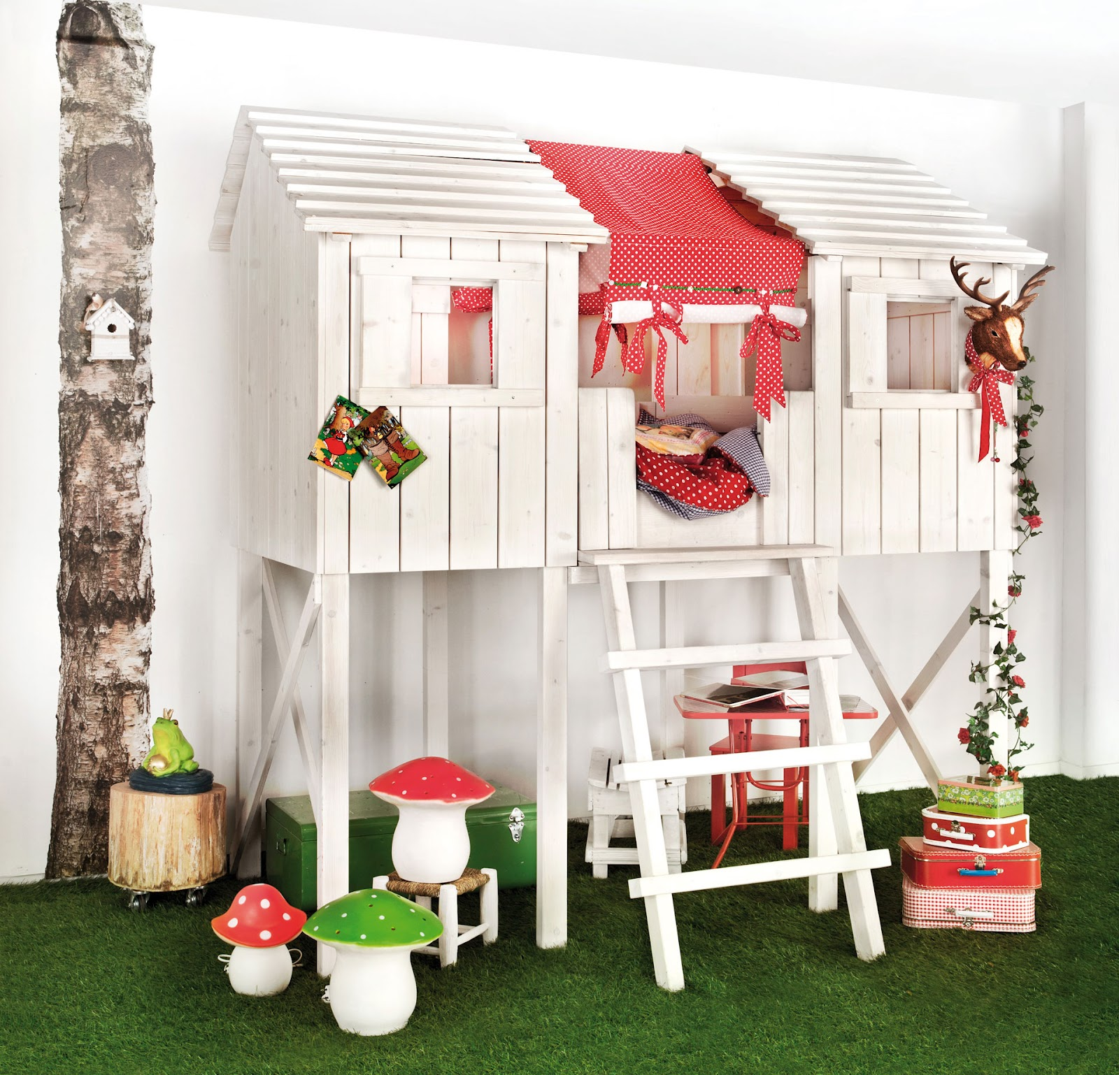Dormitorios de ni os para espacios peque os decoracion for Cuartos para ninas pequenos