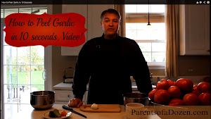 How to Peel Garlic in 10 Seconds Video
