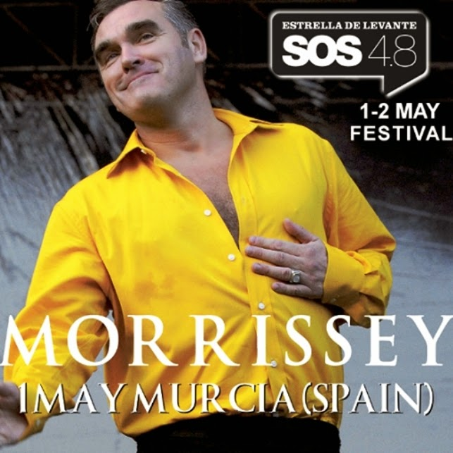 Morrissey en SOS 4.8 Murcia