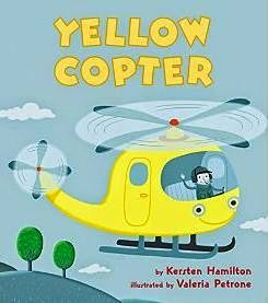 yellow copter cover