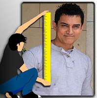aamie khan - all height