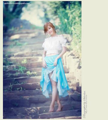8 Choi Byeol Yee-Legs Show Off-very cute asian girl-girlcute4u.blogspot.com