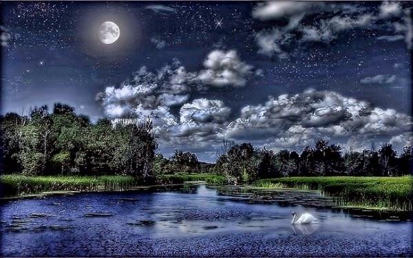 hình nền 3d ánh trăng đẹp