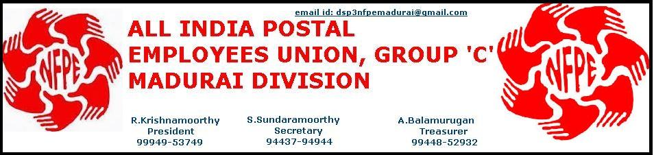 All India Postal Employees Union Group C, Madurai Division, Madurai 625002